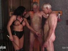 Mistress Dominates Cock