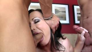 Melissa Lauren Takes His Dick In Her Ass