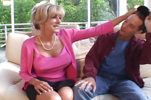 Lonely Milf Jumps On Any Cock She Can