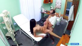 Horny Patient Is Getting Seduced In The Fake Hospital. Slender As Fuck Fake Nurse Allows To Fuck Her Accurate Snatch In The Missionary Pose.