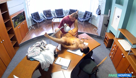Slutty Patient Alexis Allows Her Lovely Fake Hospital Doctor To Explore Her Pussy From Inside. Watch Him Pounding This Sex Doll On The Table.