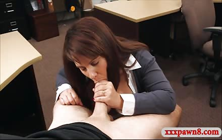 MILF Sells Her Hubbys Postcards And Banged By Pawn Guy