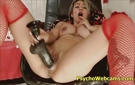 Sexy Asian With Huge Pussy Toying