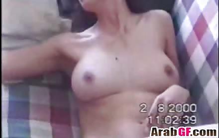 Arab Hottie Taking Care Of Big Cock
