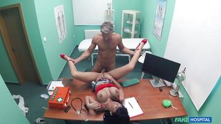 Italian Nurse Fucks The Doc In The Exam Room