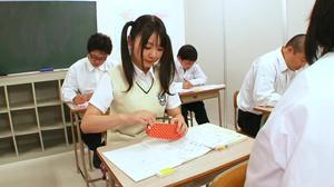 Japanese Teen Sucks Off Many Guys