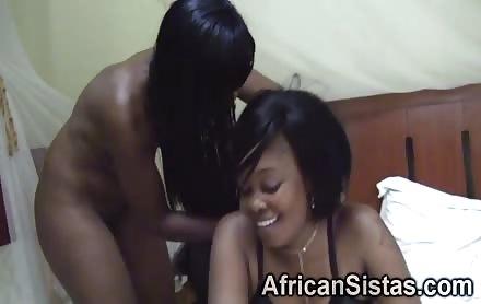 African Beauties Going Kinky In Bedroom