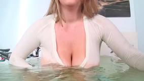 Milky Blonde Slut Kali With Huge Tits Gets Drilled Deeply