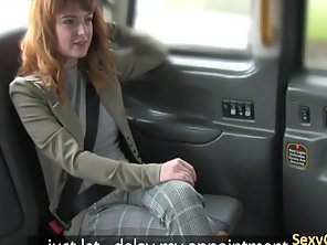 Redhed Rimmed Arse And Fuck In Taxi
