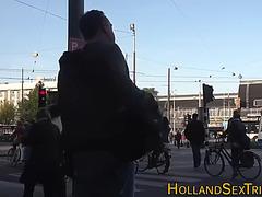 Dutch Doxy Tugs Jizz Flow