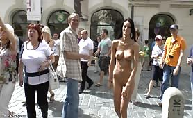 Naked Women In The Streets Of Prgaue