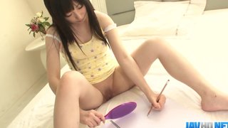 Japanese Teen Arisa Nakano Likes Her Newly Shaved Pussy