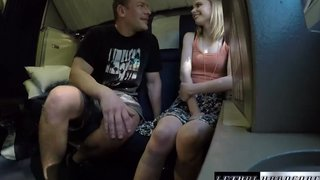 Pretty Russian Teen Shaved Pussy Slammed On A Train