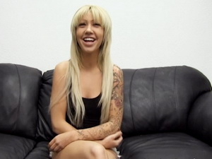 Elizabeth On Backroom Casting Couch
