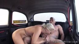 Muscular Dude Bangs Busty Blonde Cabbie