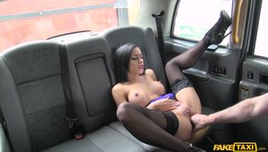 Blowjob In A Quiet Place For A Naughty Young Brunette