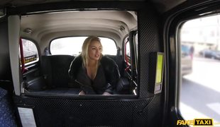 Fake Taxi Backseat Fuck With Cherry Kiss