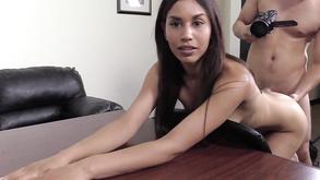 Raini Backroom Casting Couch Butt Fucking