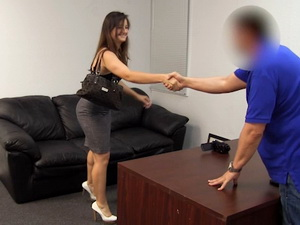 Chloe On Backroom Casting Couch