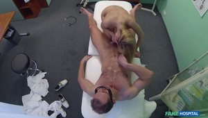 Blond-haired Teen Fucked After Getting Gaped With Speculum
