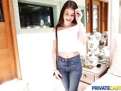 Private Casting X With Teen In Jeans