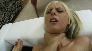 Blonde With Massive Knockers Just Loves To Blow And Can't Say No To Her Horny Bang Buddy