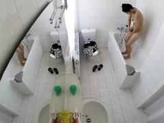 Spying On A Hot Slut In The Bathroom