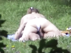 Bootylicious Brunette Enjoys Riding Her Bf S Dong Outdoors