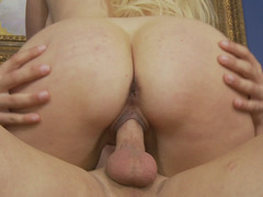 Alana Evans Shakes Her Big Ass On The Stiff Dick