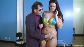 Long Haired Slut Alison Tyler Shows Off Her Oral Skills