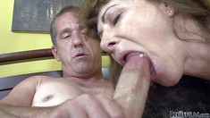 Aged Man Has Sex With Horny Mature Bitch Alexandra Silk