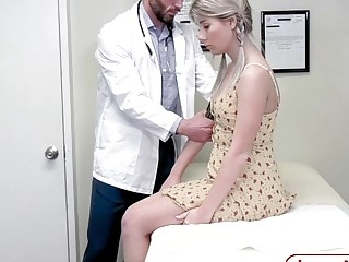 Doctor Fucks Shy Teen In The Ass During The Examination