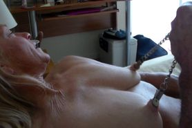 Nipple Clamps Are Fun