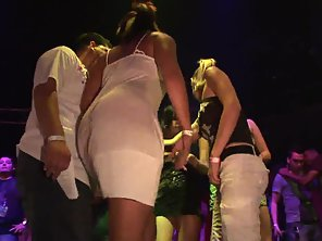 Sizzling Ladies And Their Partners Enjoy Sexual Party