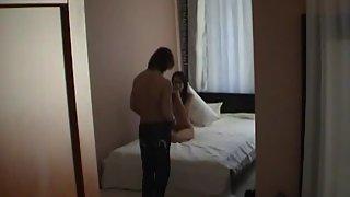 Charming Girlfriend Gets Nailed On Secrete Camera