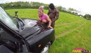 Inked Female Cabbie Brooke Tries BBC