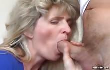 Blonde MILF Gets Banged Hardcore