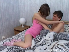 Horny Teen Amateur Drilled